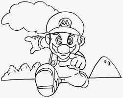 super mario bros coloring pages printables