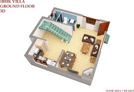 100 home plan design 3d 4 bedroom 3 5 bath unit by amir