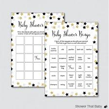 star baby shower bingo cards printable blank bingo cards and