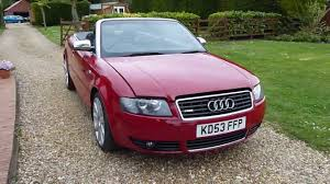 convertible audi red review of 2003 audi a4 1 8 t convertible for sale sdsc specialist