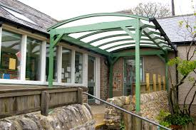 Overdoor Canopies by Commercial Canopies Commercial Carports Smoking Shelters
