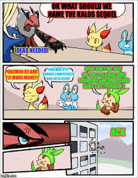 Pokemon Memes En Espa Ol - pokemon board meeting imgflip