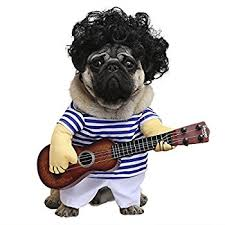 costumes for dogs wowowo dog costume guitar style pet costume with