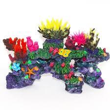 sea coral reef aquarium ornaments aquarium plants