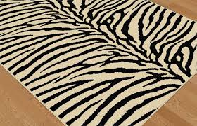 Cheetah Print Area Rugs Beige Black Modern Exotic Zebra Animal Print Area Rug Contemporary