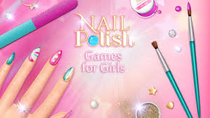 nail polish games for girls do your own nail art designs in a