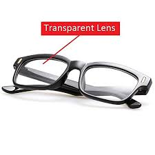 blue light blocking glasses for sleep cyxus blue light filter better sleep block uv transparent lens