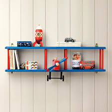 Children S Bookshelf Lift Hide Bookcase Storage Chest Tan Blue Childrens Bookshelf Toy