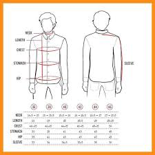 7 male dress shirt sizes resume setups