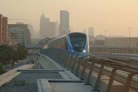Dubai Metro Map by Red Line Dubai Metro Wikipedia