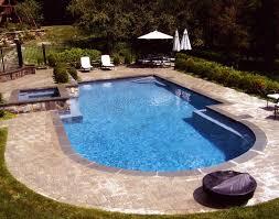 simple swimming pool design with rectangular shape irosi