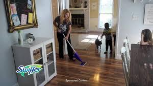 swiffer wetjet hardwood floor spray mop starter kit bj s