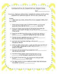 adjectives in sentences die besten 25 the adjective ideen auf tabellen