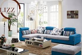European Sectional Sofas Fabric Sofa