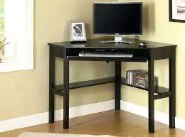 desk black wooden desk with hutch image of corner desks and