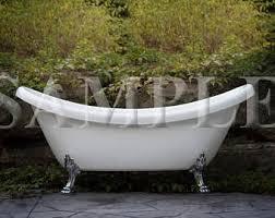 Clawed Bathtub Clawfoot Bathtub Etsy