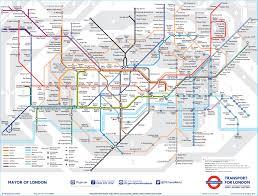 Tube Map London London Tube Map