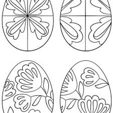 pysanky egg coloring page coloring pages ukrainian easter eggs fresh pysanky ukrainian easter