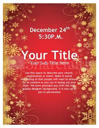 christmas flyer template free publisher joy of christmas flyer