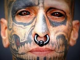 man tattoos his eyeballs youtube