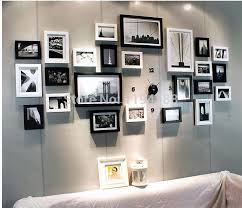 wood frame wall decor modern family wall decoration wood picture photo frame