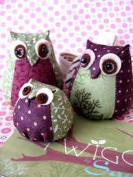 sewn owl tutorial we make owls like these but really tiny and