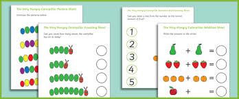 the very hungry caterpillar maths booklet free early years