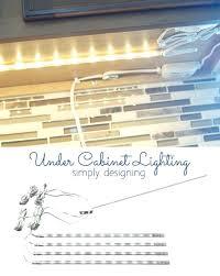 How To Install Under Cabinet Lights Under Cabinet Lighting Strips U2013 Kitchenlighting Co