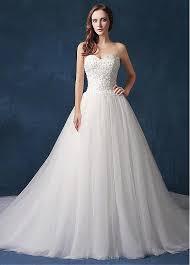 sweetheart neckline wedding dress buy discount fabulous tulle lace sweetheart neckline a line