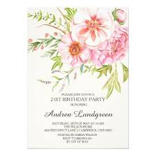 422 best feminine birthday party invitations images on pinterest