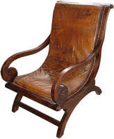 Leather And Wood Chair Wooden Chairs With Without Leather Seats Chandra Shekhar Exports
