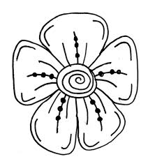 drawing flowers for kids flowers and funny bees coloring page for