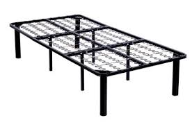 twin size steel metal platform bed frame with 8 legs greenhome123