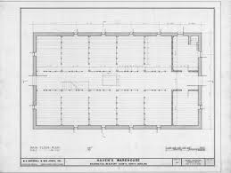 warehouse floor plans with the maintenance shop office in the