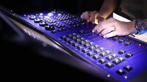 sound designer sound designer mixing on the sound stock footage