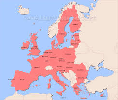 Where Is Germany On The Map by Where Is Europe On The Map Roundtripticket Me