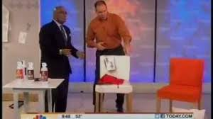 Fabric Paint Spray Upholstery Simply Spray On The Today Show 10 26 11 Youtube