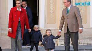 the royal family of monaco release christmas card youtube