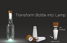 cork shaped rechargeable bottle light easgear cork shaped rechargeable usb led bottle light for party