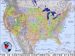 Unted States Map by Continental United States Public Domain Maps By Pat The Free