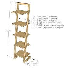 popular of diy leaning desk and best 25 ladder desk ideas only on