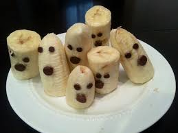 halloween banana ghosts u2013 halloween wizard