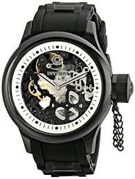 amazon com invicta men u0027s 1091 russian diver stainless steel and