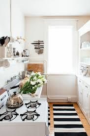 Striped Kitchen Rug Black And White Striped Kitchen Rug Chene Interiors