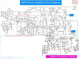 500w audio amplifier circuit diagram pcb juanribon com wiring