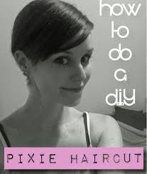 how to give yourself a haircut diy pixie cut how i cut my hair off paper doll
