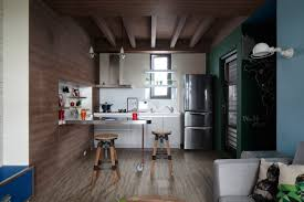 modern kitchen shelving ideas ceiling captivating exposed rafters with pendant lighting and