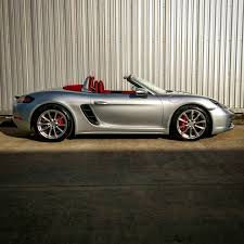 could this be the first miami blue porsche 718 boxster s in south