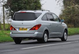 ssangyong ssangyong rodius estate review 2005 2013 parkers