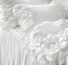 Ruffle Bed Set Cheap White Ruffle Bedding Set Find White Ruffle Bedding Set